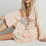 Racheal. Boho Chic Loose Fit Dress - The Young Hippie