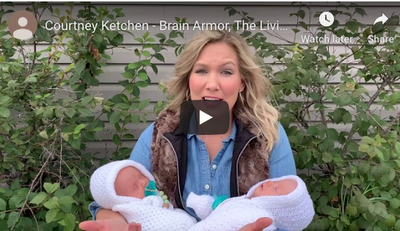 "Watch ""Courtney Ketchen - Brain Armor, The Living Brain Project"""