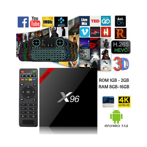 4K Android 7.1 Smart TV BOX