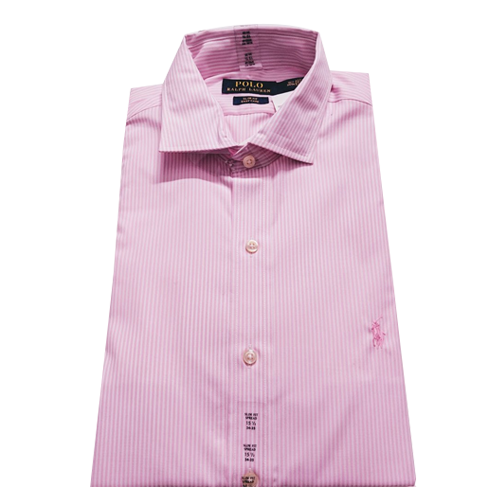 RALPH LAUREN- Slim Fit Easy Care Button Down Shirt