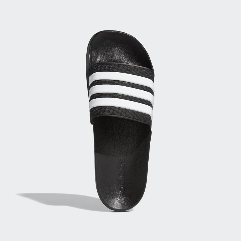 ADILETTE CLOUDFOAM SLIDES- Core Black / Cloud White / Core Black