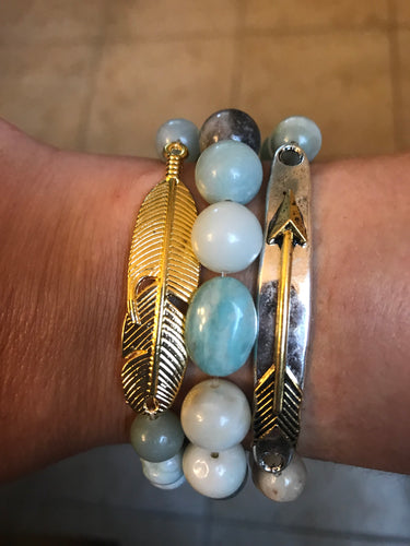 Feather Arrow Stack 1