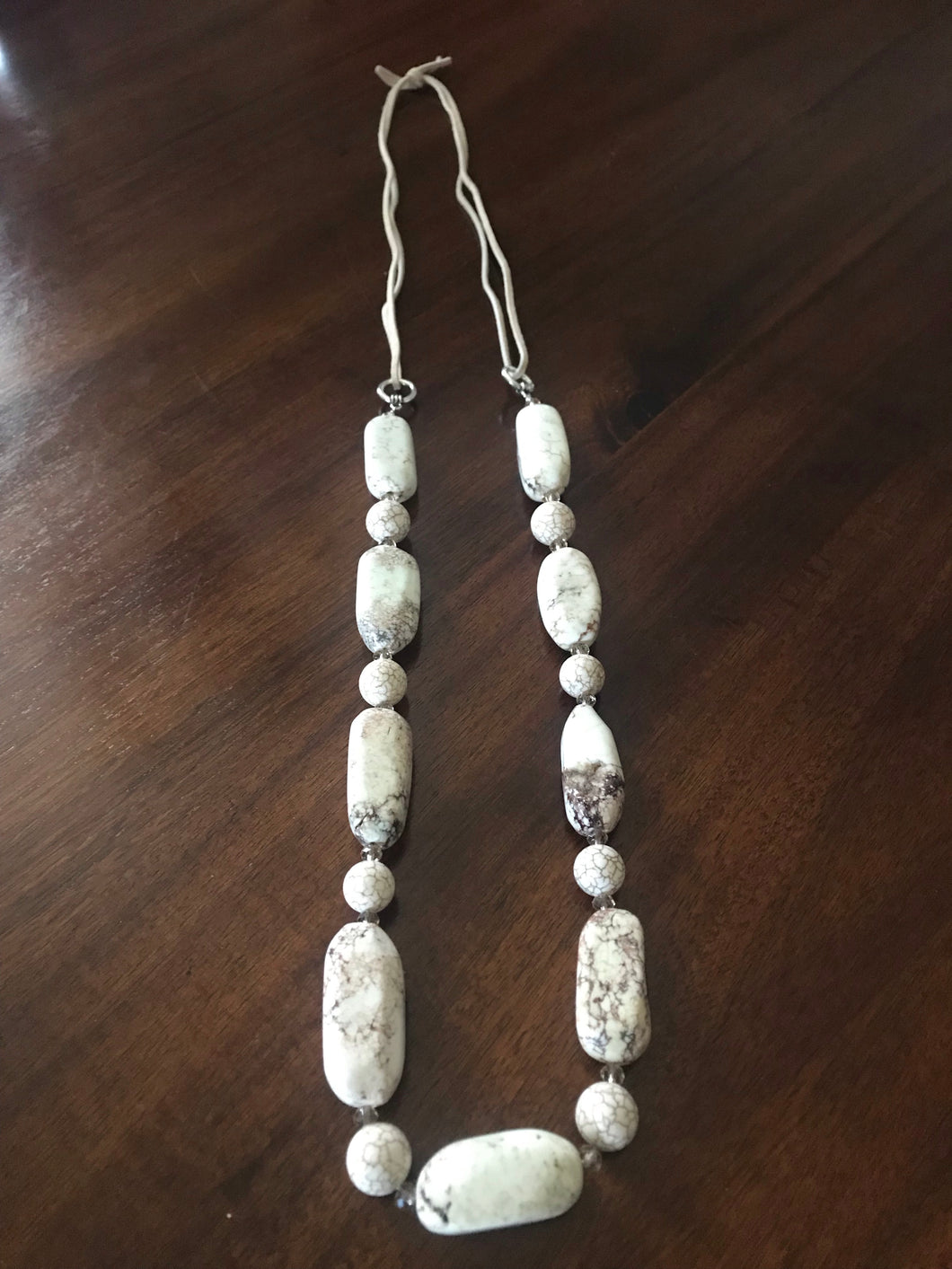Chunky Howlite Necklace