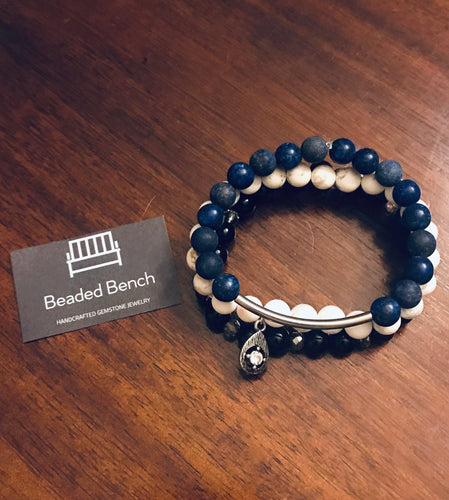 Custom Team Spirit Bracelet Stack