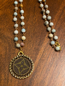 Repurposed LV Rosary
