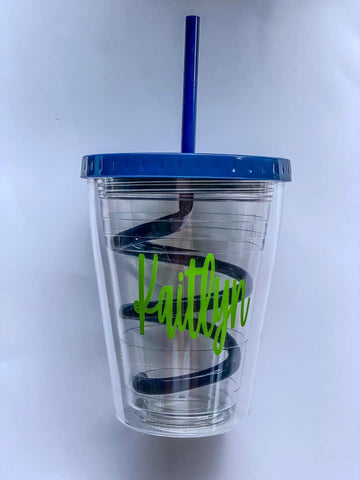 Dark Blue Children's Tumbler