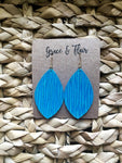 Medium Hawaiian Water Petal Earrings