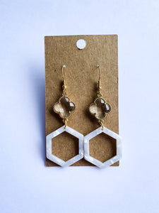 Simple Springtime Earrings