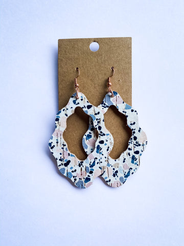 Large Boho Spring Confetti Earrings