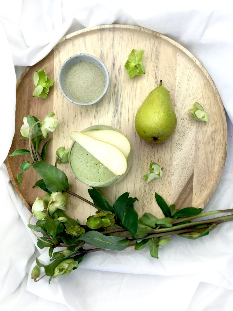 Best Collagen Beauty Powder Supplement - Peary Green Smoothie