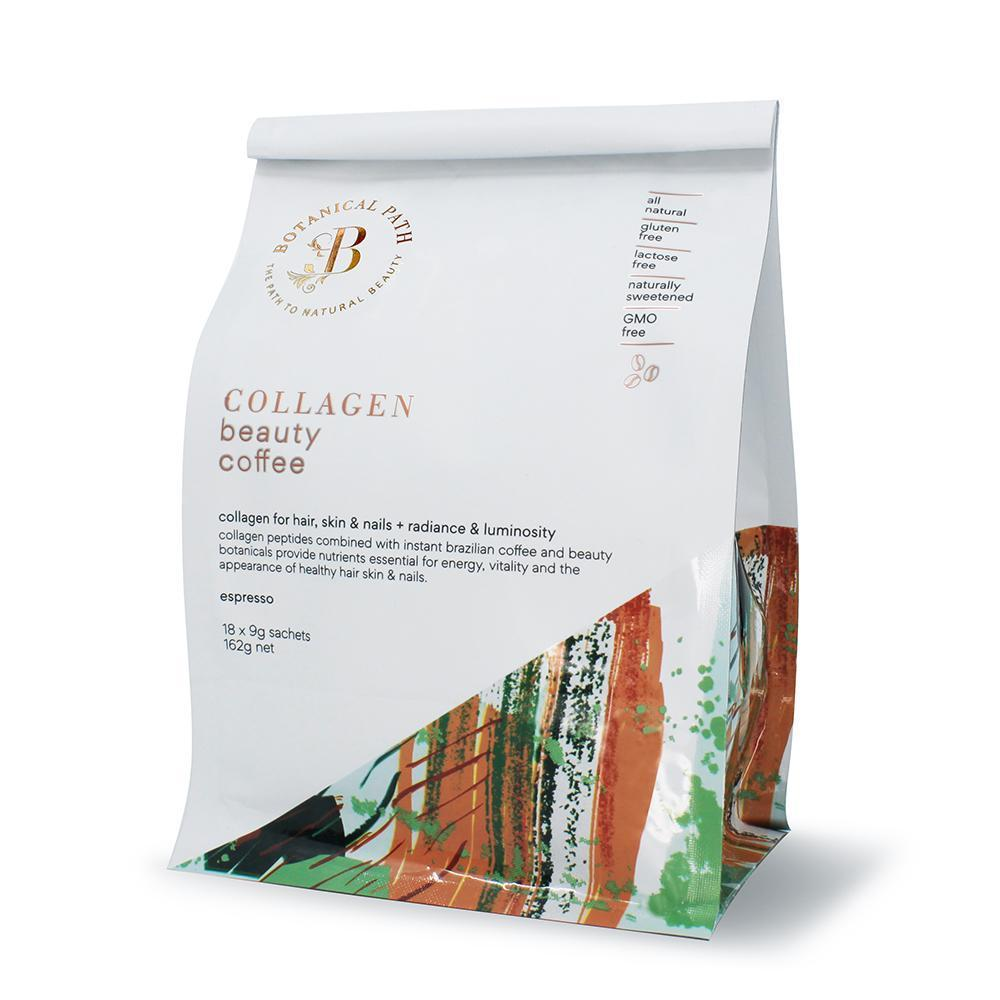 Collagen Coffee Espresso Flavour with Hydrolyzed Collagen Peptides