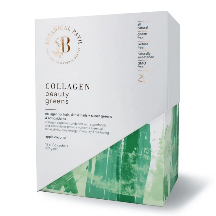 Collagen Beauty Greens - Apple Coconut Flavour