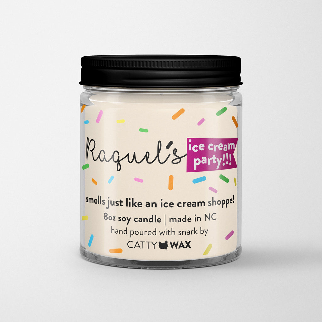 Raquel's Ice Cream Party Candle - Vanderpump Rules - VPR gift