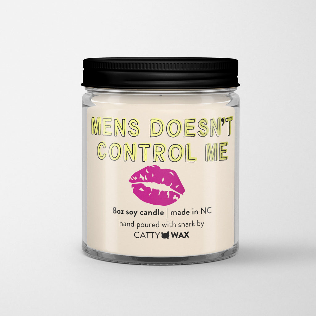 Men's Doesn't Control Me - 90 Day Fiance candle - 90 DF gift