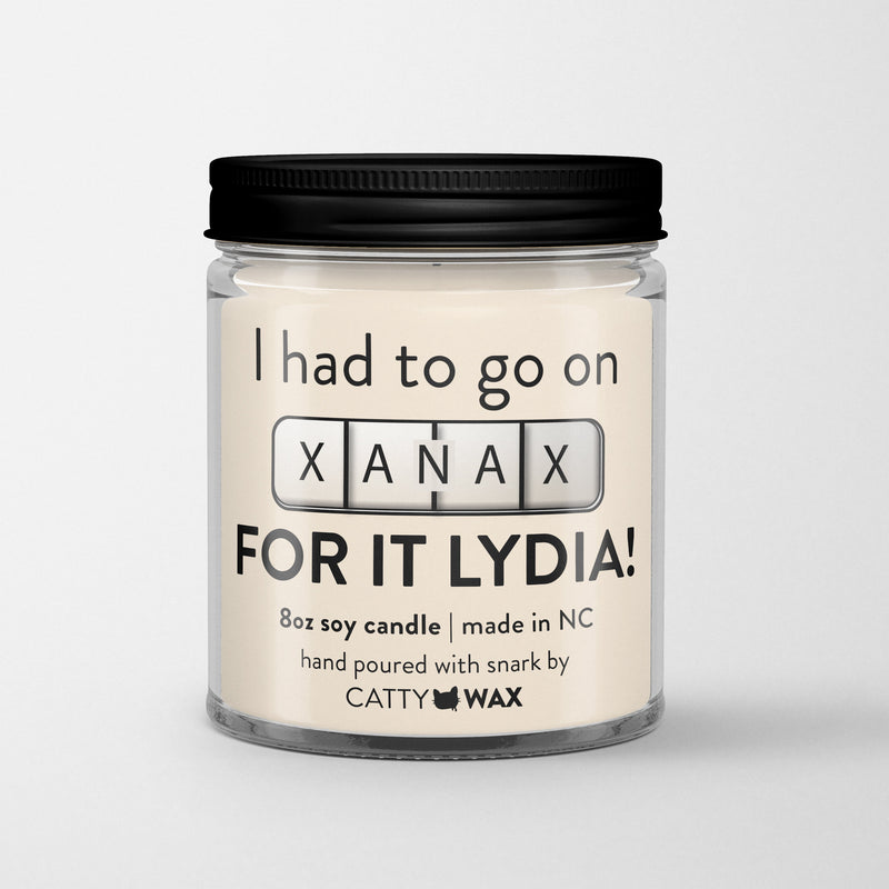 RHOC Gift - I had to go on Xanax for it, Lydia! - Jesus Jugs - Real Housewives of Orange County