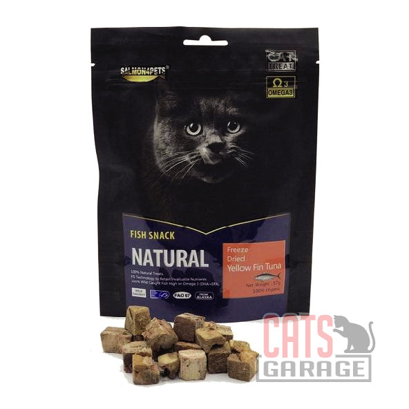 Salmon4Pets - Freeze Dried Yellow Fin Tuna - 57g