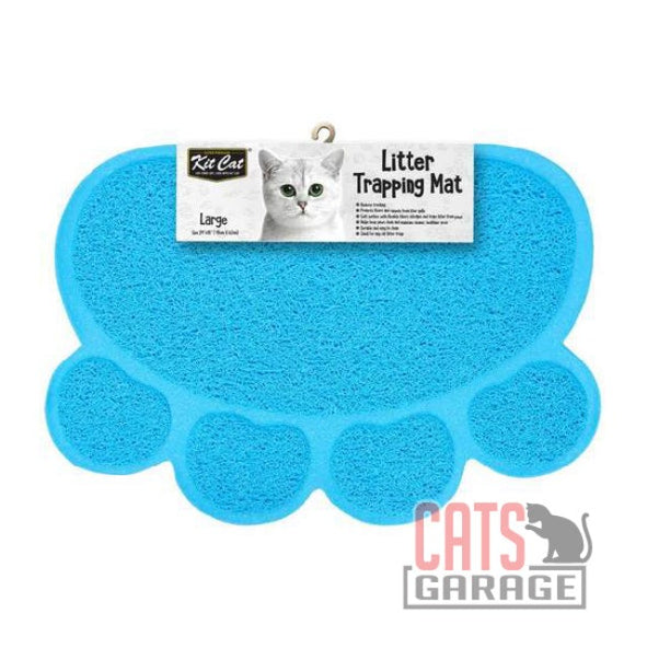 Kit Cat® - Litter Trapping Mat (Light Blue)