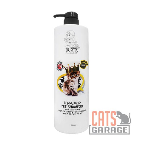 DR Pets™ - Natural Germs Buster Perfumed Pet Shampoo (Allure) 1000ml