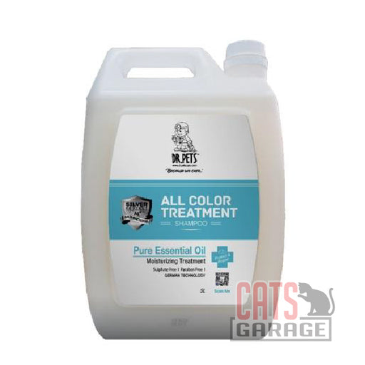 DR Pets™ - Nanosilver All Colour Treatment Shampoo - Jasmine 5000ml