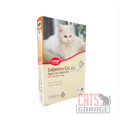 Solano Solpreme - Spot-On Flea Control for Cats Over 4kg