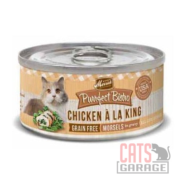 Merrick® Purrfect Bistro Grain Free - Chicken À La King Morsels In Gravy 156g