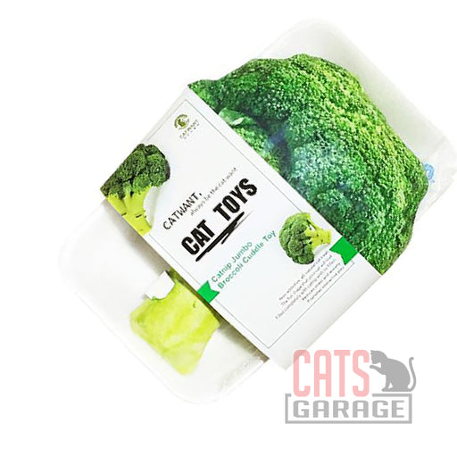 Catwant -  Jumbo Cuddle Toy (Brocolli)