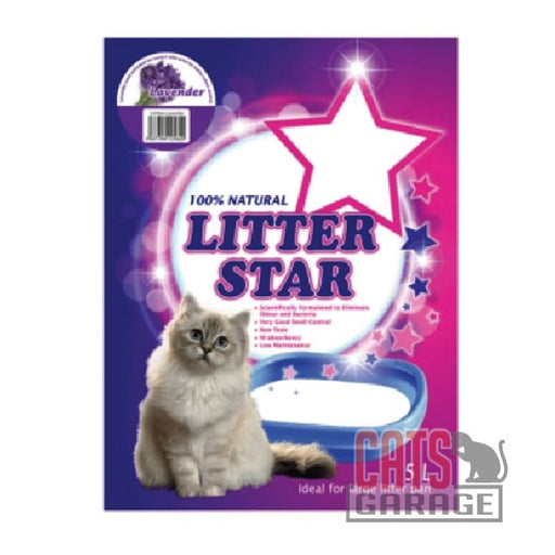 Litter Star - Lavender (Silica Gel Beads) 5L
