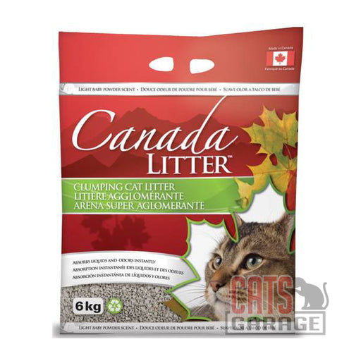 Canada Litter™ Clumping Clay - Baby Powder (2 Sizes)