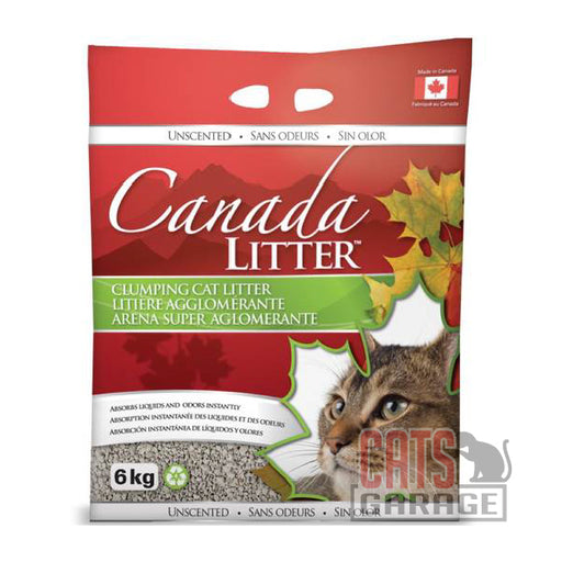 Canada Litter™ Clumping Clay - Unscented (2 Sizes)