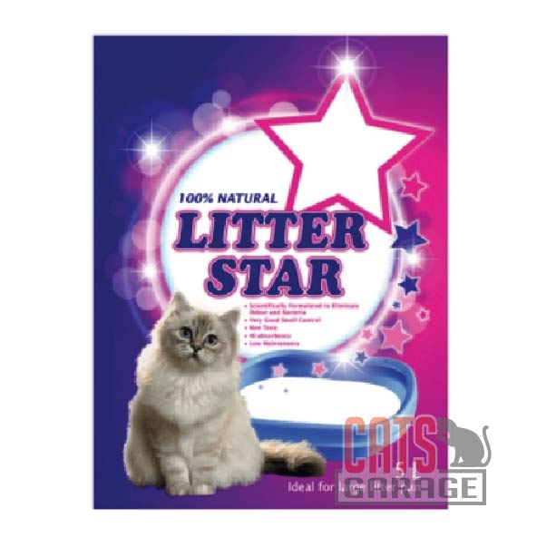 Litter Star - Non Scented (Silica Gel Beads) 5L
