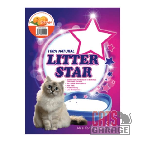 Litter Star - Orange (Silica Gel Beads) 5L