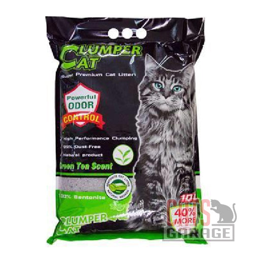 Clumper Cat - Green Tea Scent 10L