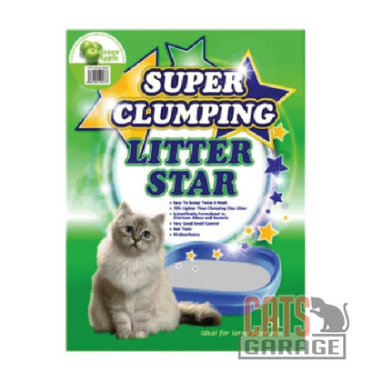 Litter Star - Super Clumping / Green Apple 5L