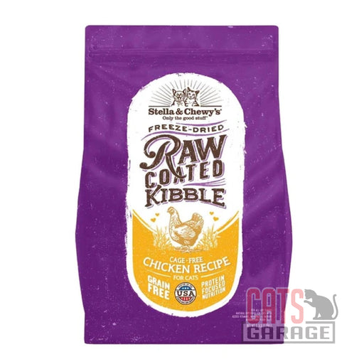 Stella & Chewy's Raw Coated Kibble - Cage-Free Chicken Recipe (2 Sizes)