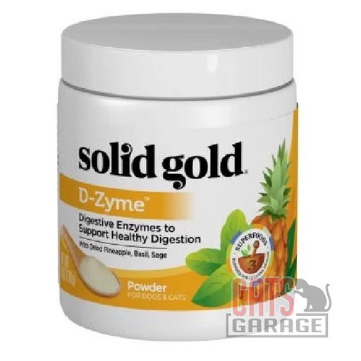 Solid Gold - D-zyme Powder Healthy Digestion for Dogs & Cats 6oz
