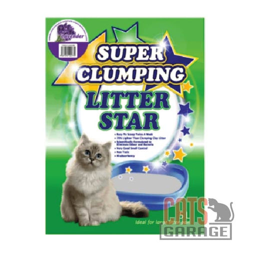 Litter Star Super Clumping - Lavender 5L
