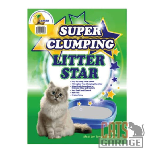 Litter Star Super Clumping - Lemon 5L
