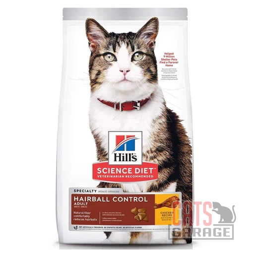 Hill's Science Diet - Adult Hairball Control (3 Sizes)