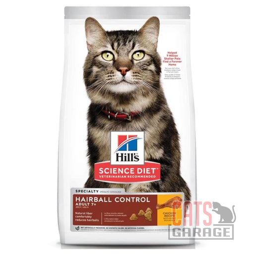 Hill's Science Diet - Mature Adult 7+ Hairball Control 2kg
