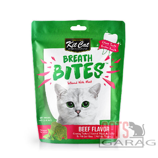 Kit Cat® Breath Bites 60g - Beef Flavour