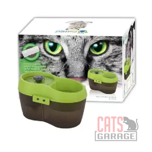 Cat H2O® Filtered Water Fountain 2L - Green