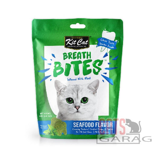 Kit Cat® Breath Bites 60g - Seafood Flavour