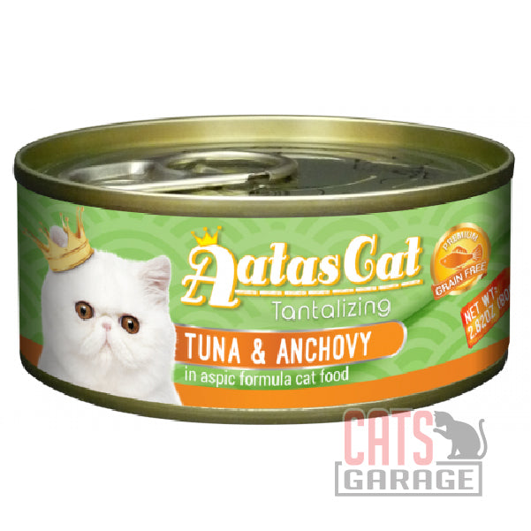 AATAS CAT Tantalizing - Tuna & Anchovy in Aspic formula 80gms