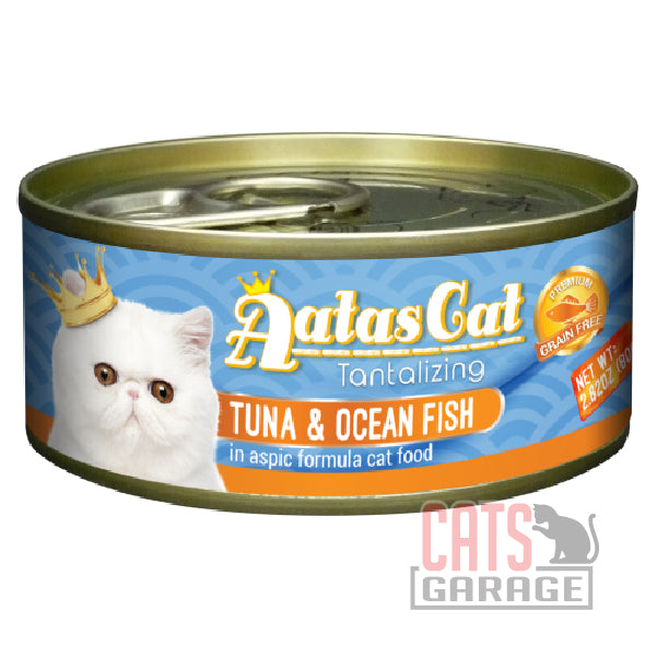 AATAS CAT Tantalizing - Tuna & Ocean Fish in Aspic Formula 80gms