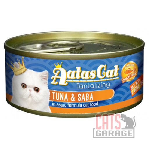AATAS CAT Tantalizing - Tuna & Saba in Aspic Formula 80gms