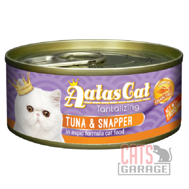 AATAS CAT Tantalizing - Tuna & Snapper in Aspic Formula 80gms