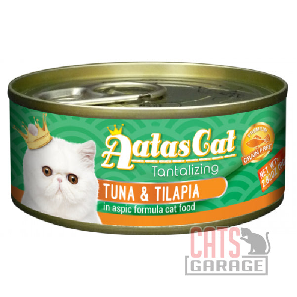 AATAS CAT Tantalizing - Tuna & Tilapia in Aspic Formula 80gms