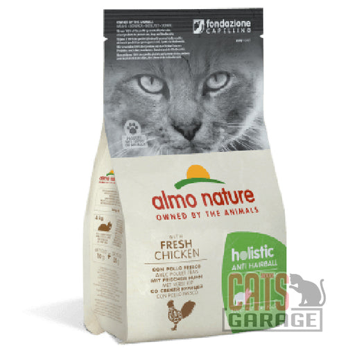 Almo Nature - Holistic Anti Hairball With Fresh Salmon (3 Sizes)