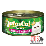 AATAS CAT Creamy - Chicken & Whitefish 80gms