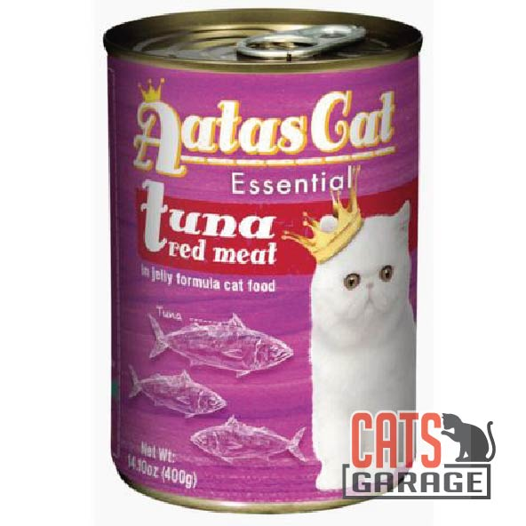 AATAS CAT Essential - Tuna Red Meat in Jelly Cat Wet Food 400gm